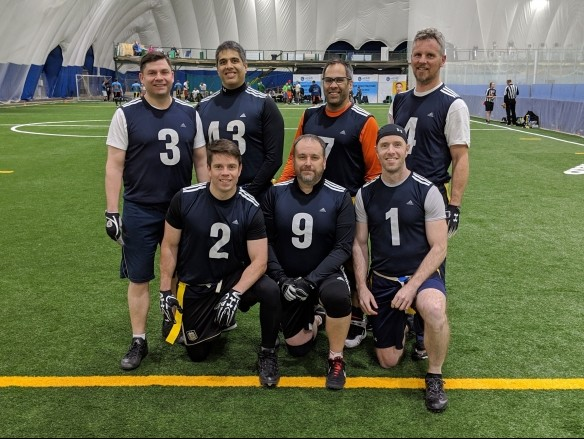 GRUMPY OLD X-MEN PICKED UP THEIR FIRST POINT OF THE SEASON IN A WEEK 8 TIE WITH RELICS